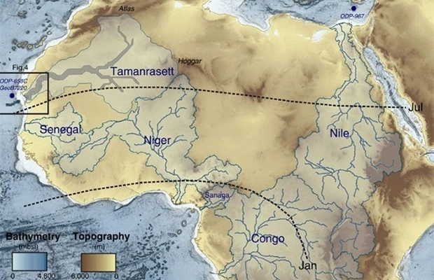 река в сахаре