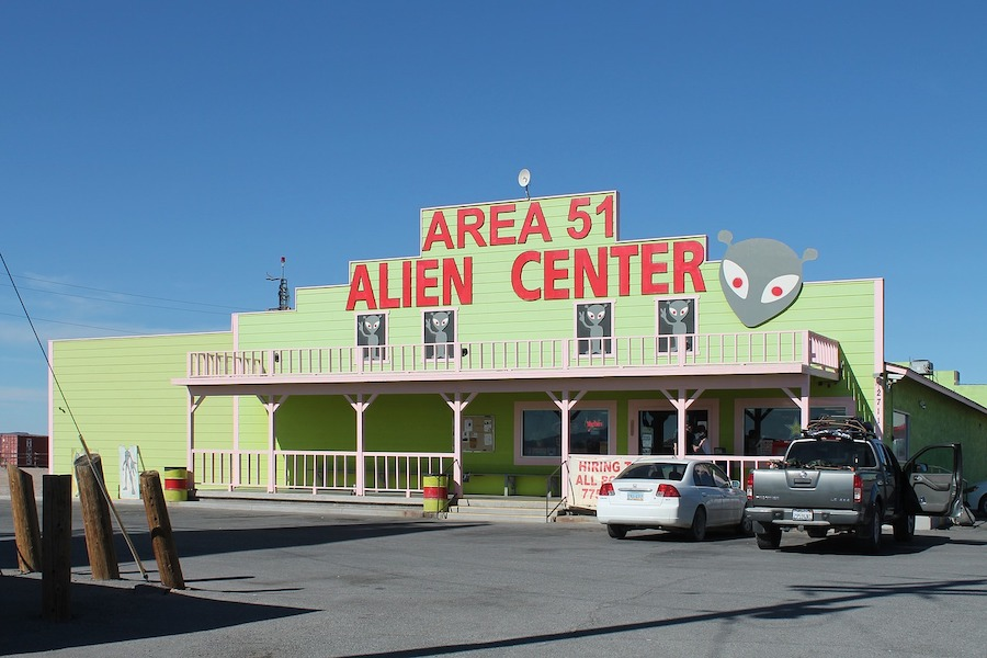 зона 51 area 51 alien