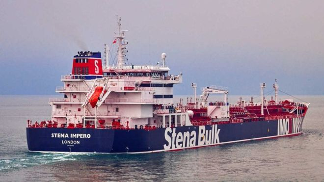 танкер иран stenabulk