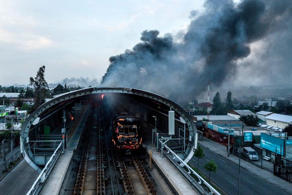 чілі метро пожежа
