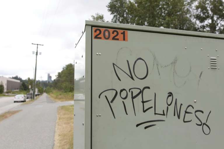 канада протест газопровід британська колумбія