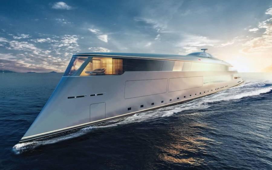 yacht bill gates aqua