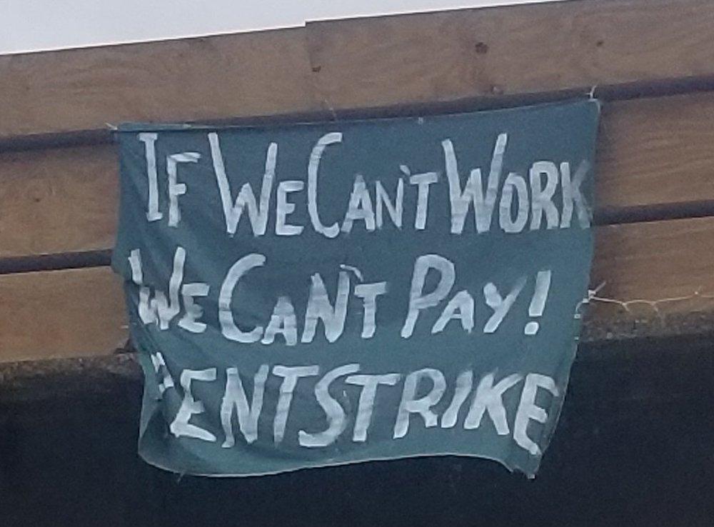 rent strike 2020 USA