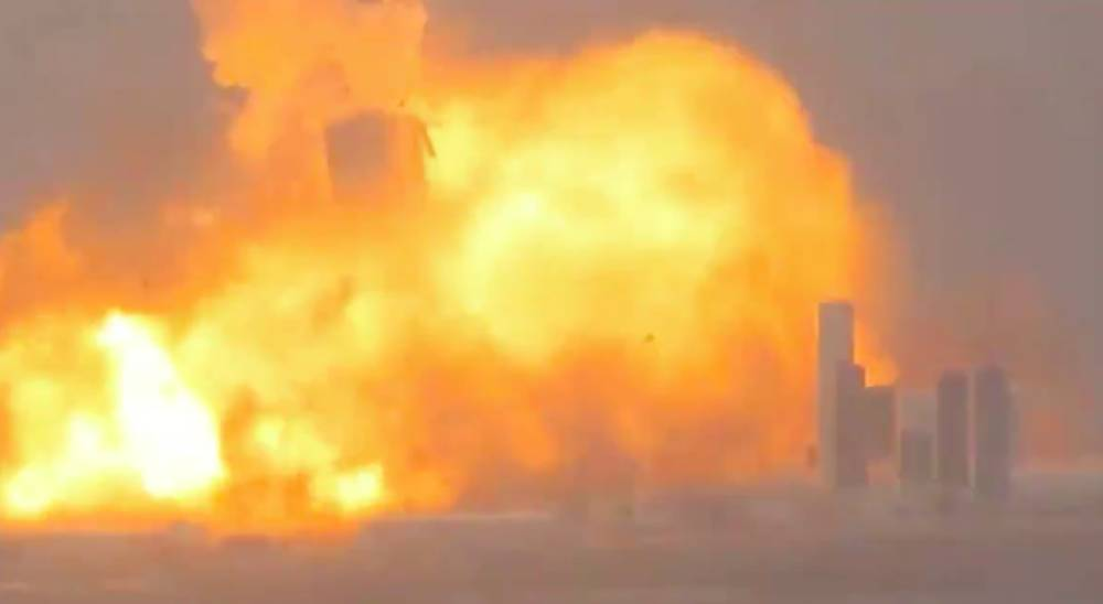 starShip explosive