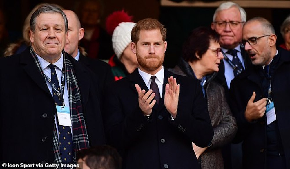 Prince Harry Swing Low Sweet Chariot