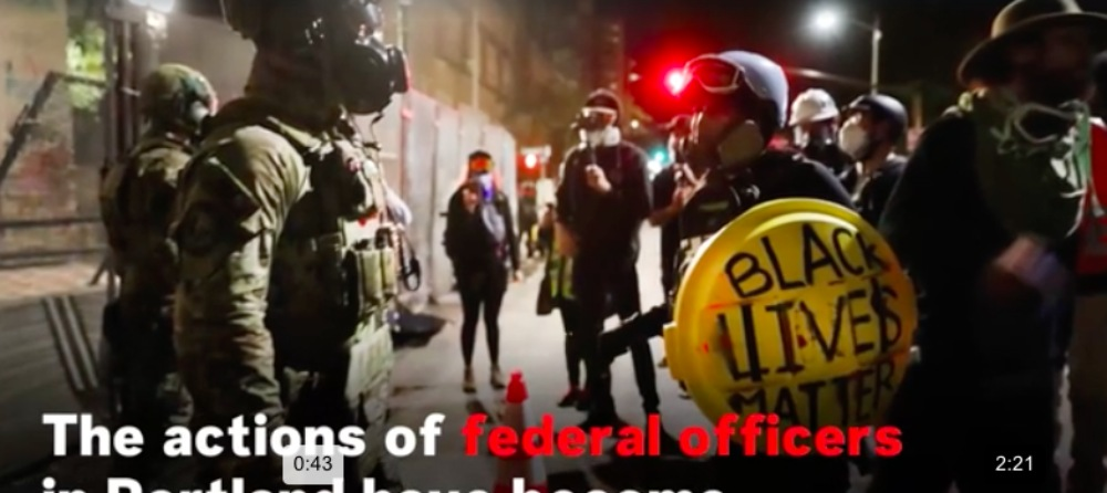 portland blm protest