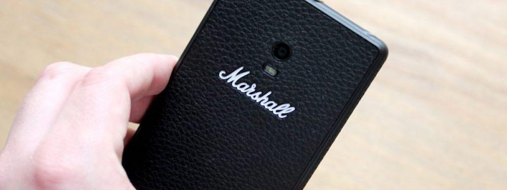 marshall smaptphone