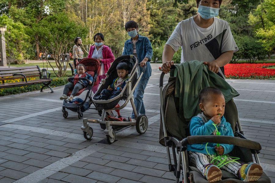 china 3 child