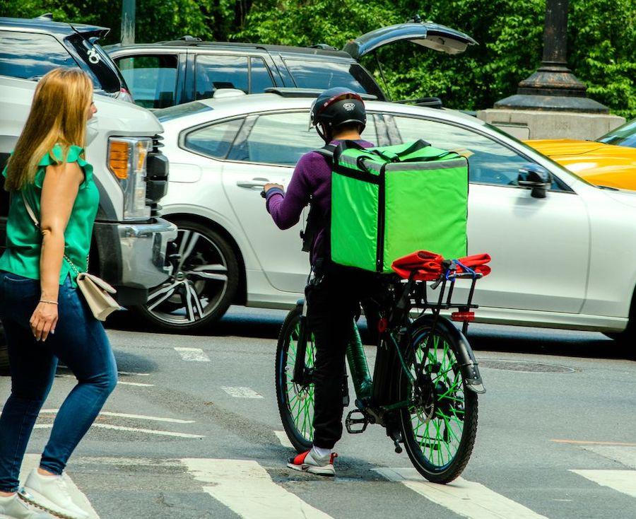 DoorDash and Uber Eats