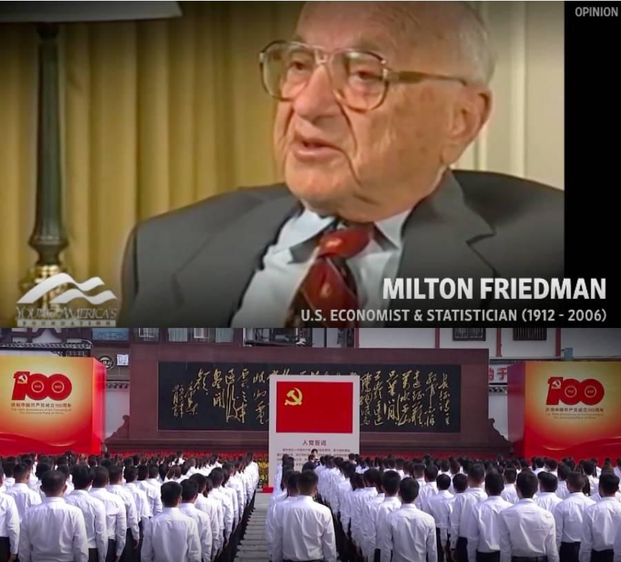 milton friedman china