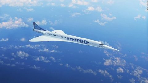 united airlines supersonic 2029