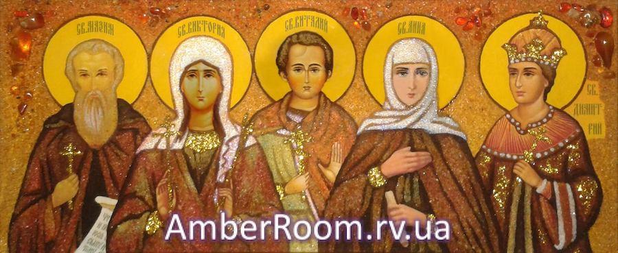 Картины из янтаря от amberroom