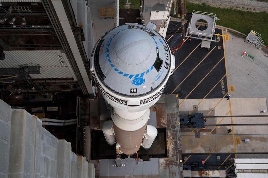 Boeing Starliner spacecraft