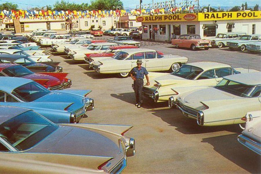 American Car Dealership